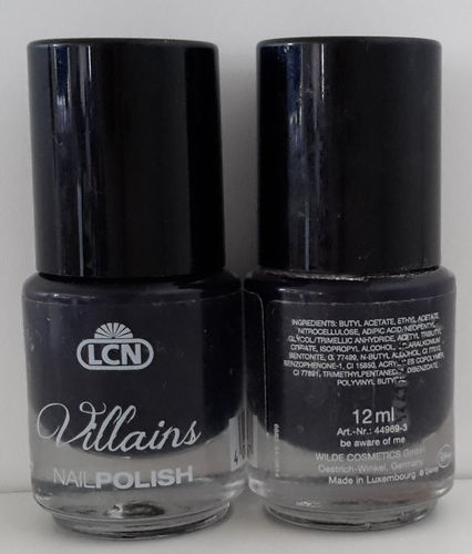 LCN Nagellack Villains be aware of me 12ml