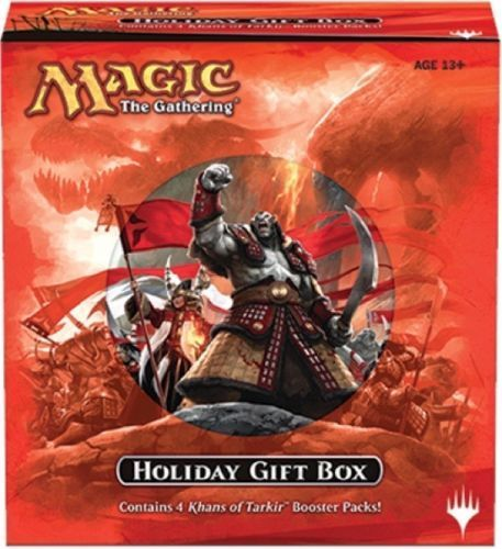 Magic The Gathering Holiday Gift Box 2014 Khans of Tarkir Englisch