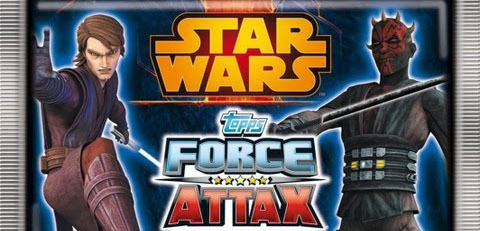 52x Force Attax Star Wars Serie 4