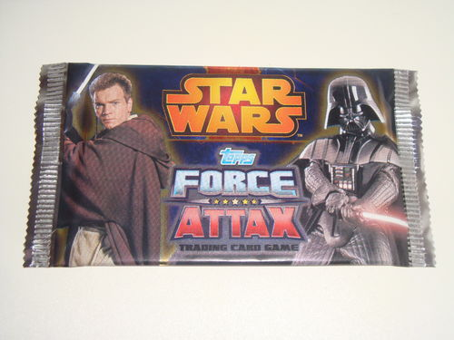 29x Force Attax Star Wars Serie 3