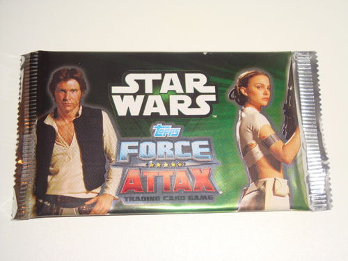 15x Force Attax Star Wars Serie 2