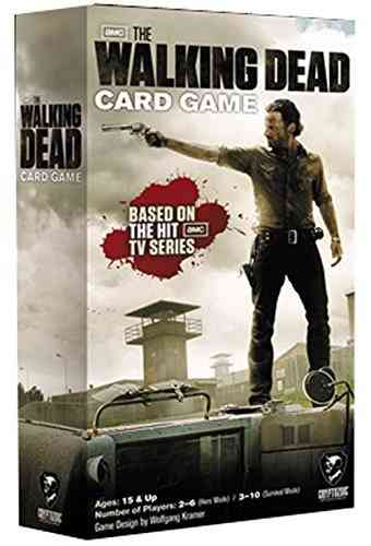 Cryptozoic Entertainment 16591 The Walking Dead Card Game