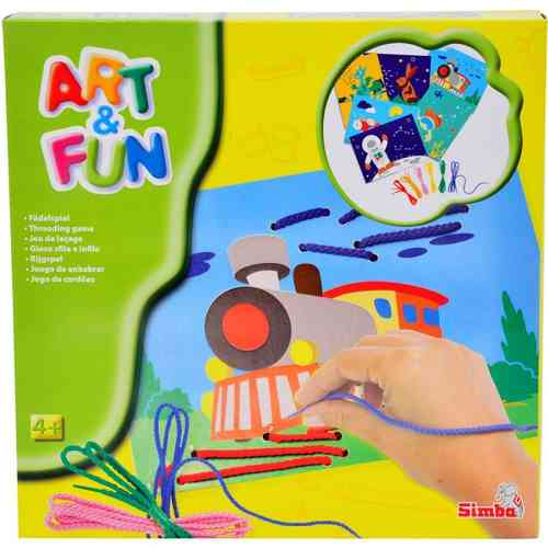 Art and Fun Fädelspiel