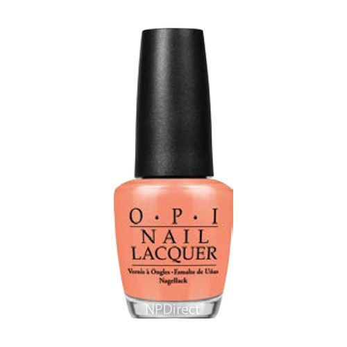 O.P.I OPI NL H68 Is Mai Tai Crooked?