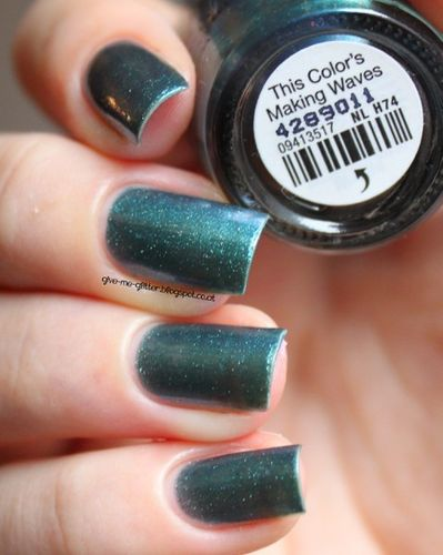 O.P.I OPI NL H74 This Color's making waves
