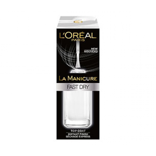 L'Oréal La Manicure Fast Dry Top Coat 5ml