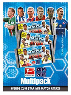 Match Attax Saison 2014/2015 Multipack