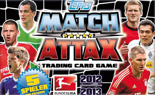 2x Match Attax Bundesliga 2012/2013