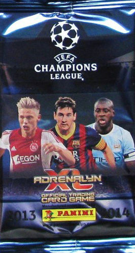 Panini Adrenalyn XL UEFA CL 2013/14 Booster
