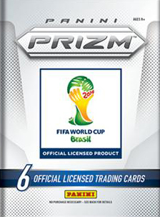 Panini 2014 Fifa World Cup Brasilien Prizm Booster
