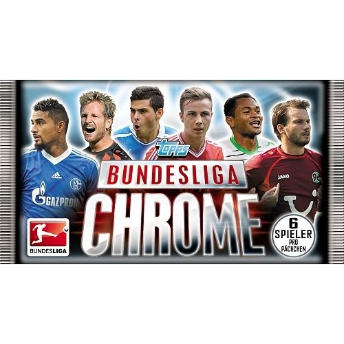 Topps Bundesliga Chrome Saison 2013 2014 Booster