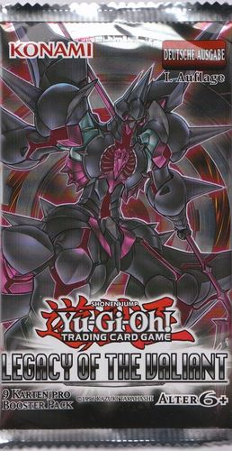 Yu-Gi-Oh! Legacy of the Valiant Booster