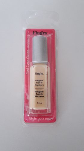 Fing'rs Original French Manicure Nail Care Gloss 7,5ml