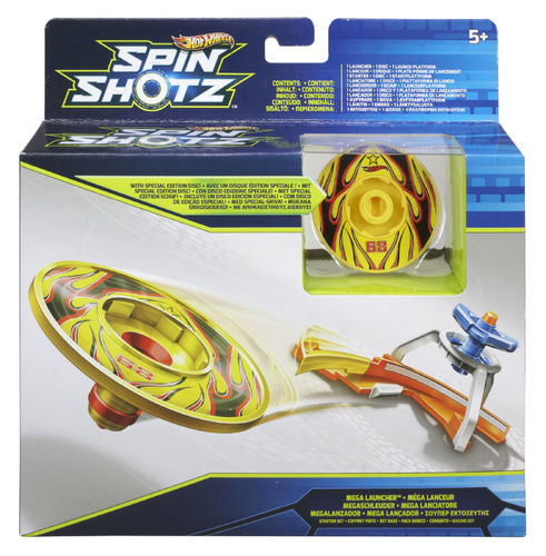 Mattel Hot Wheels - Spin Shotz Y1641 Megaschleuder