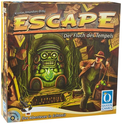 Queen Games 60901 - Escape - Der Fluch des Tempels