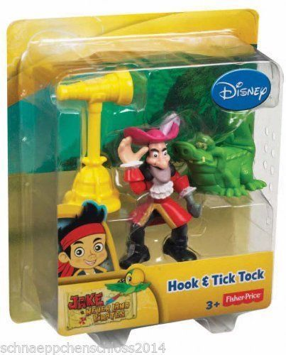 Fisher-Price Y2261 Jake und die Nimmerland Piraten Hook & Tick Tock