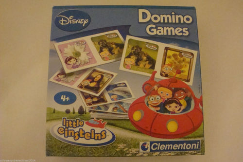 Clementoni Domino Games Little Einsteins