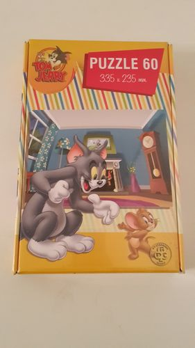 Tom & Jerry Puzzle 60 Teile 335 x 235 mm