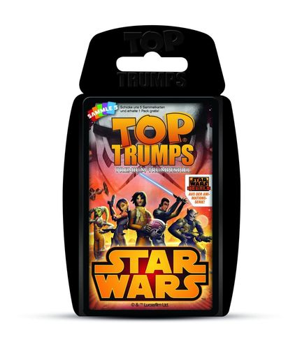 Winning Moves 62004 Top Trumps Star Wars Rebels