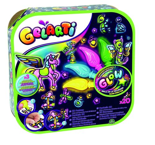Giochi Preziosi 70140391 Gelarti Activity Set Glow in the Dark