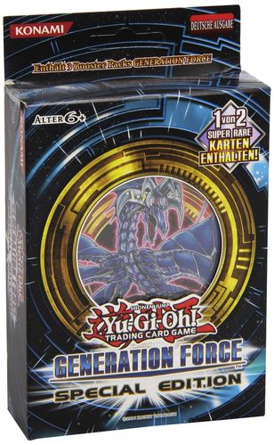 Yu-Gi-Oh! Generation Force Special Edition