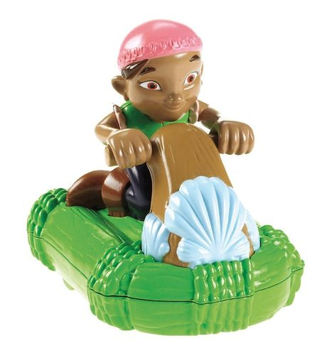 Fisher-Price X1219 Jake und die Nimmerland-Piraten Izzys Renn-Floß