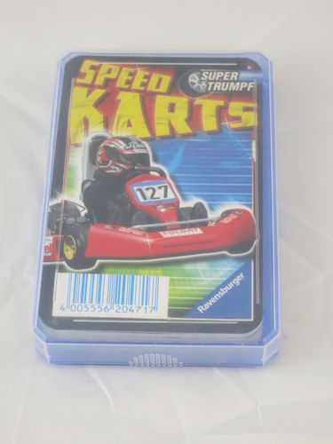 Ravensburger Super Trumpf Quartett Speed Karts