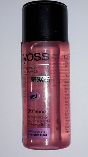 Syoss Glossing Shine-Seal Shampoo Normales bis Stumpfes Haar 50ml
