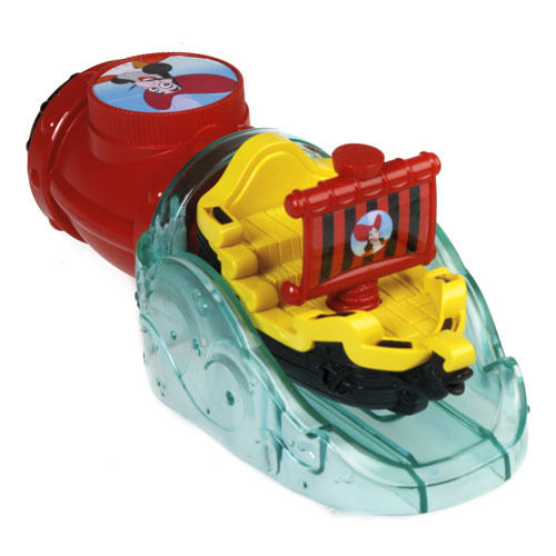 Fisher-Price CCY82 Piraten Badeboot, Schiff Jolly Roger