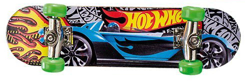 Mattel Hot Wheels Finger Skateboards Schwarz
