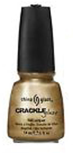 China Glaze Nagellack 1042 Tarnished Gold Crackle Lack 14ml