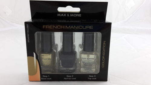Max & More French Manicure Set No. 1