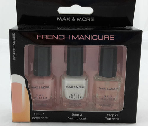 Max & More French Manicure Set No. 3