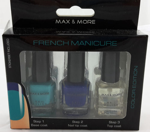 Max & More French Manicure Set No. 4