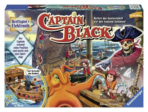 Ravensburger 22293 elektronisches Brettspiel Captain Black B-Ware