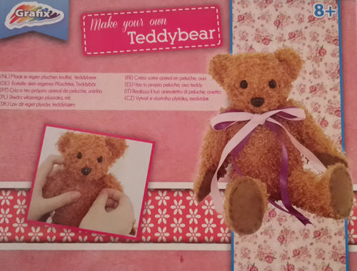 Grafix Bastelpackung Plüschtier Make Your Own Teddybear