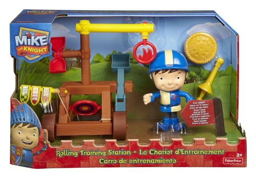 Fisher-Price BFX73 Mike der Ritter Rollende Übungsstation