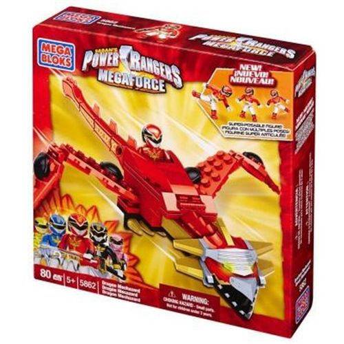 Mega Bloks 5862 Power Rangers Mega Force Dragon Megazord