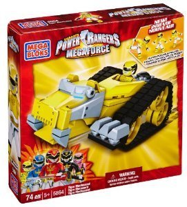 Mega Bloks 5864 Power Rangers Mega Force Tiger Megazord
