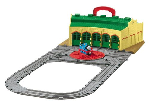 Fisher-Price Thomas & seine Freunde R9113 Lokschuppen Set
