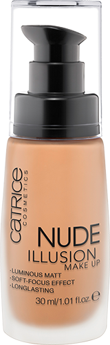 Catrice Nude Illusion Make Up 025 Nude Sand 30ml