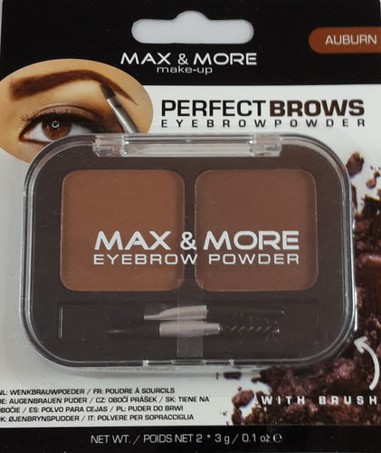 Max & More Eyebrow Powder Auburn