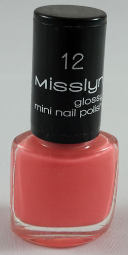 Misslyn Nagellack 12 Morning-After Mini