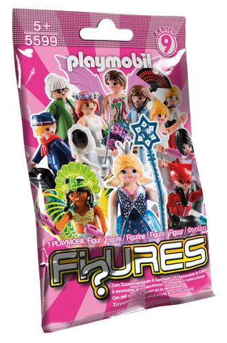 Playmobil 5599 - Figures Girls - Serie 9
