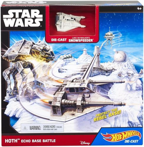 Mattel Hot Wheels Star Wars CGN34 Hoth Echo Base Battle