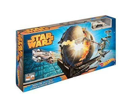 Mattel Hot Wheels Star Wars CGN48 Death Star Battle Blast