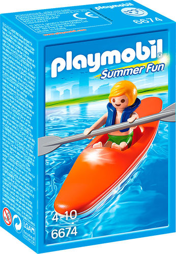 Playmobil Summer Fun 6674 Kinder-Kajak