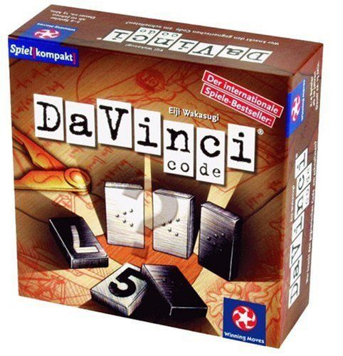 Winning Moves 70146 - Da Vinci Code