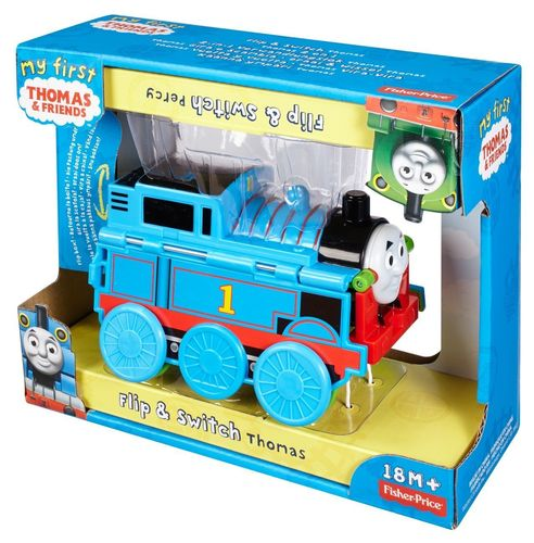 Fisher-Price CDM24 Thomas & seine Freunde 2-in-1 Verwandlungslokomotive