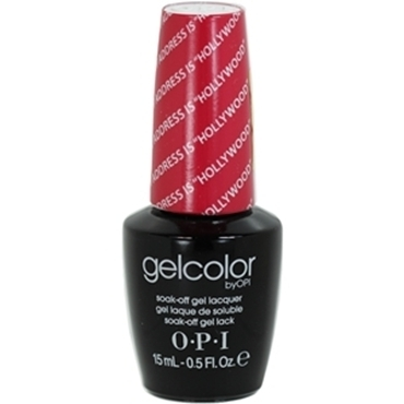 "O.P.I. OPI Gel Color Soak-Off Gel Lack GC T31 My Adress Is ""Hollywood"""